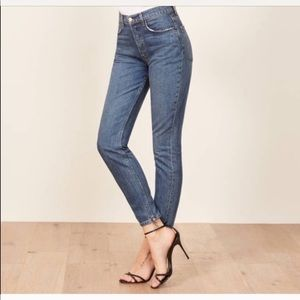 Reformation Melissa High and Skinny Jeans
